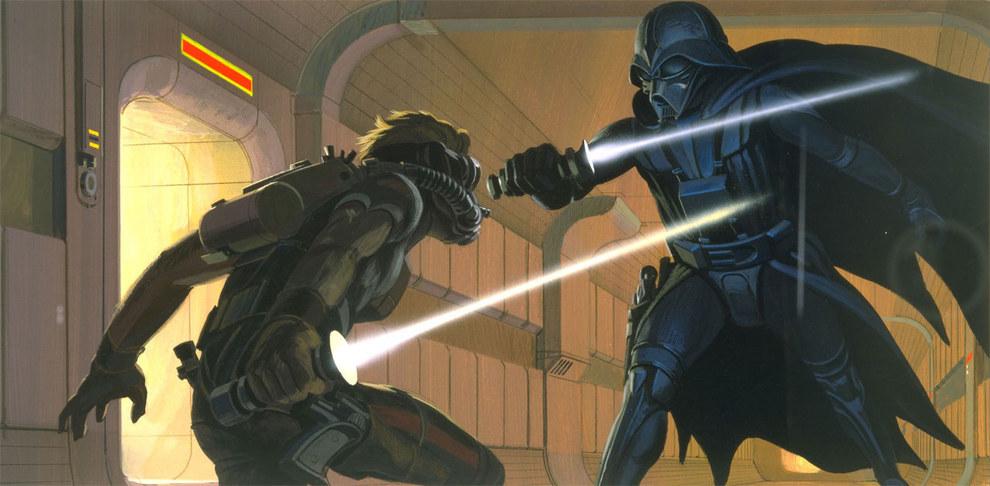 Fue idea de McQuarrie que sugirió que Vader tuviera que llevar respirador.