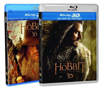 Películas del El Hobbit en Blu-ray 3D baratas, ofertas en películas Blu-ray, películas Blu-ray baratas