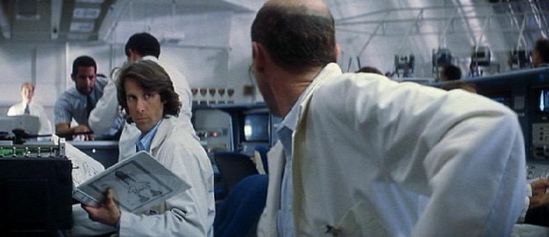 Michael Bay como un científico de la NASA en Armageddon