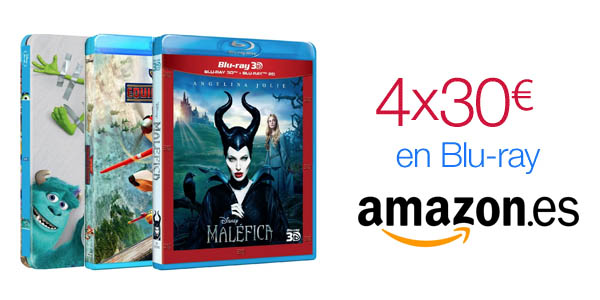Oferta Blu-ray de Amazon (abril 15)