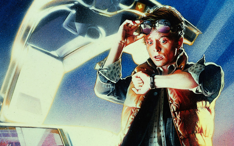 Back to the Future detail