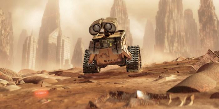 Marte Wall-E mash-up
