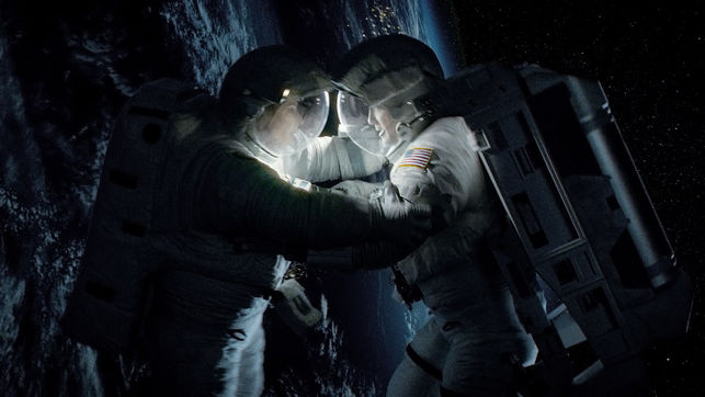 Una escena de Gravity, de Alfonso Cuarón