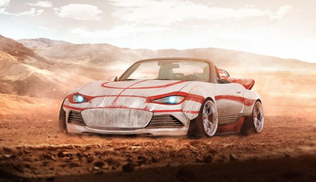 El Mazda MX-5 de Luke Skywalker