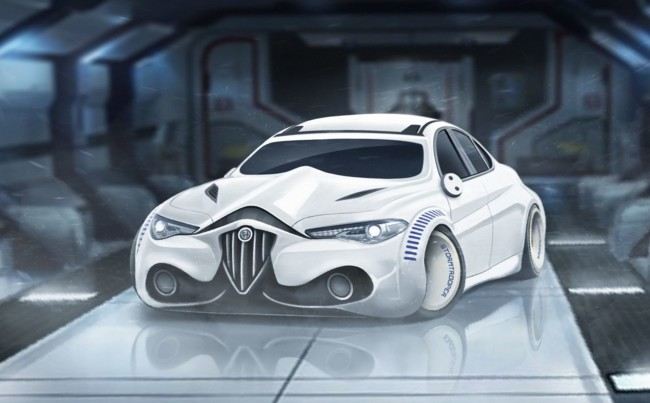 El Alfa Romeo Giulia Stormtrooper