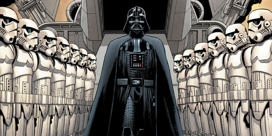 Darth Vader en versión cómic