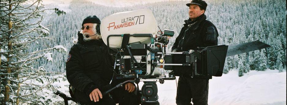 Detalle de una cámara preparada para rodar en Panavision Ultra. (The Weinstein Company)