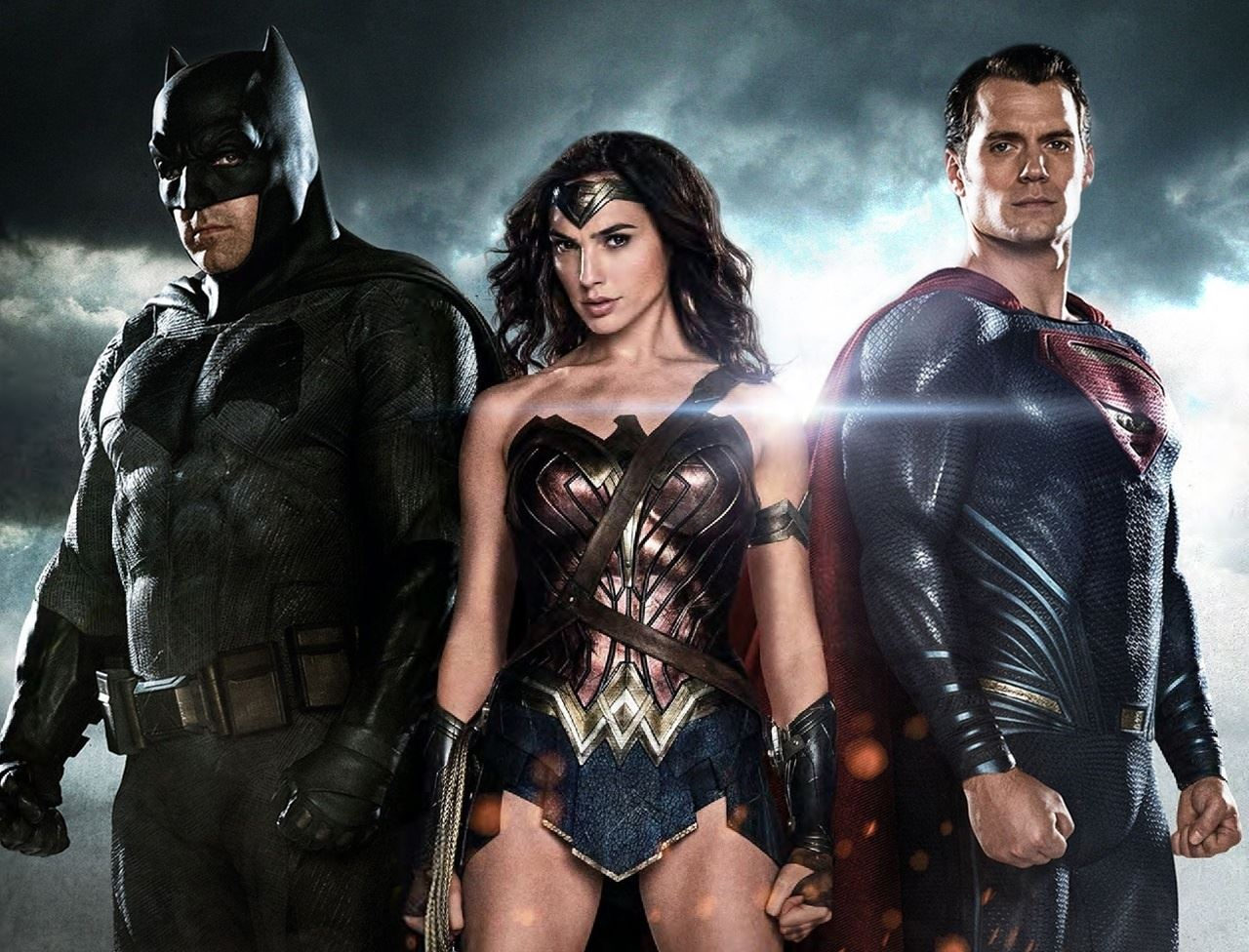Imagen de Batman v Superman con Wonder Woman