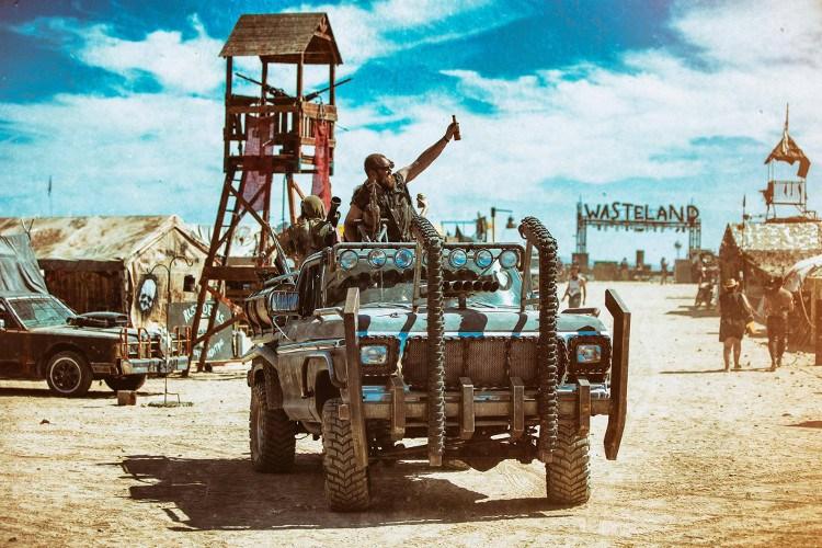 Wasteland Wekkend loco festival californiano estetica Mad Max