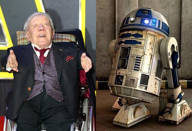 Kenny Baker, actor de R2-D2, muere a los 83 años