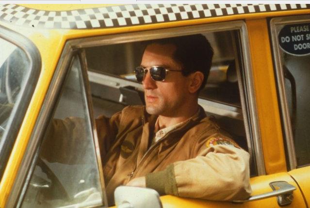 Imagen de la película Taxi Driver con el protagonista, Robert de Niro. / Taxi Driver (Facebook)