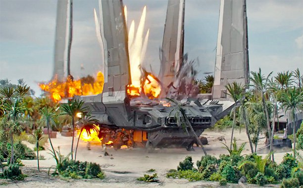 Star Wars Rogue One: un vistazo visual al cargo imperial SW-0608