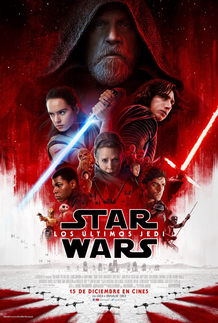 Poster Star Wars: Los Últimos Jedi