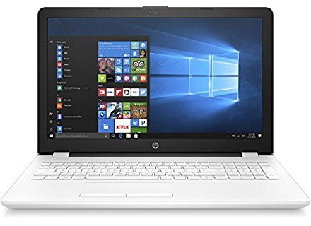 "HP 15-bs091ns - Ordenador portátil de 15.6"" HD (Intel Core i3-6006U, 8 GB de RAM, HDD de 1 TB, Intel HD 520, Windows 10 Home 64) blanco nieve - teclado QWERTY Español"