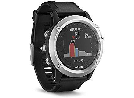 Garmin Fenix 3 HR - Reloj multideporte con pulsómetro en la muñeca