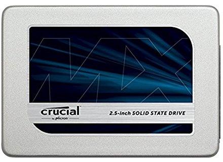 Crucial MX300 - Disco duro sólido interno SSD de 525 GB (SATA, 2.5 pulgadas)